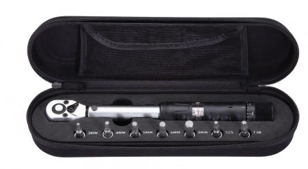 Set cheie dinamometrica BBB BTL-7301 TorqueSet negru