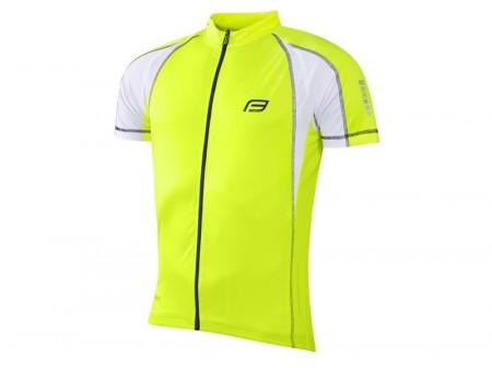 Tricou ciclism Force T10 fluo L