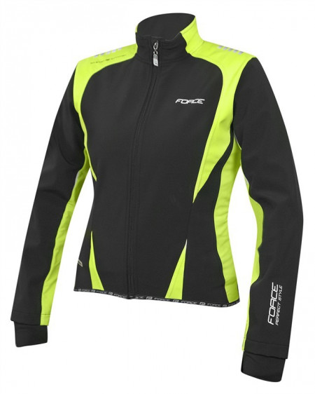 Jacheta Force X71 Lady softshell negru-fluo L