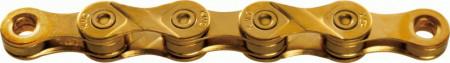 Lant KMC X9 Gold Ti-N 9 Viteze 114 zale