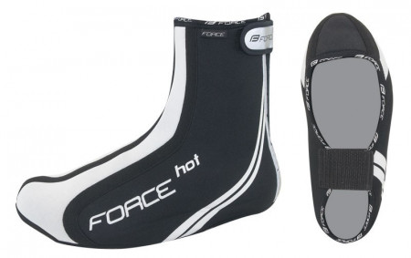 Huse pantofi Force Hot neopren negre S