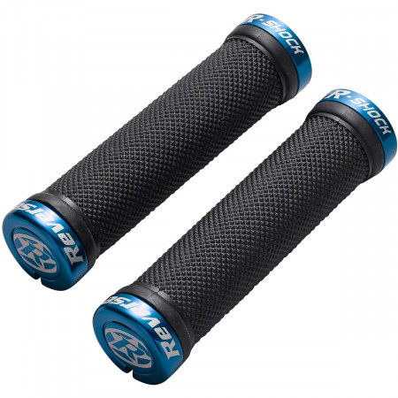 Mansoane Reverse R-Shock soft compound 29/130mm negru/albastru