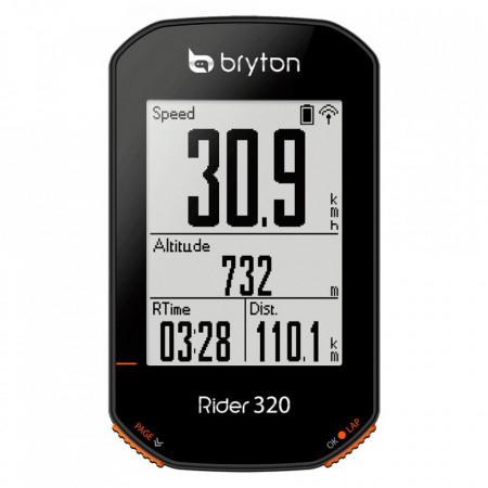 Ciclocomputer bicicleta BRYTON RIDER 320T GPS computer set (+HRM si CAD senzor)