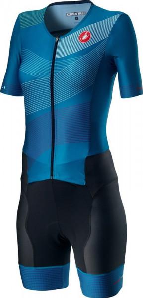Costum Triatlon cu Maneca Scurta Castelli Free Sanremo 2 W Suit Multicolor XL