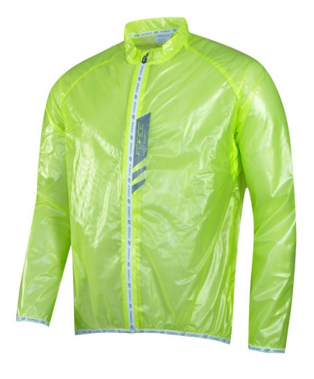 Jacheta Force Lightweight verde fluo L
