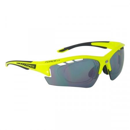 Ochelari Force Ride Pro cu suport lentile galben/negru