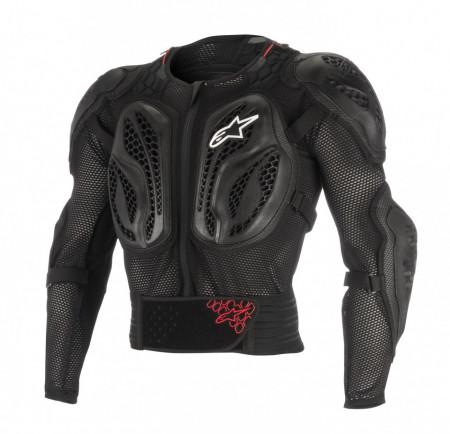 Armura Alpinestars Youth Bionic Action Jacket Black Red S/M