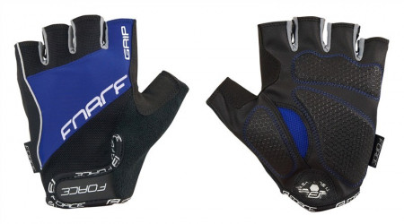 Manusi Force Grip gel negru/albastru S