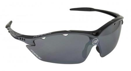 Ochelari Force Ron negru lentile negru laser