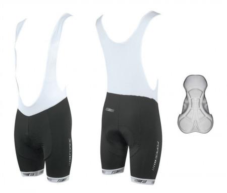 Pantaloni scurti cu bazon si bretele Force B38 L