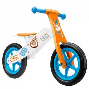 Bicicleta copii Seven Star Wars BB8 Wooden Balance Bike