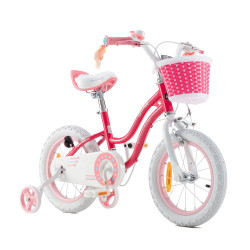 Bicicleta RoyalBaby Star Girl 16 Pink