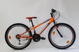 Bicicleta Sprint Casper 24 2021, furca rigida, portocaliu mat