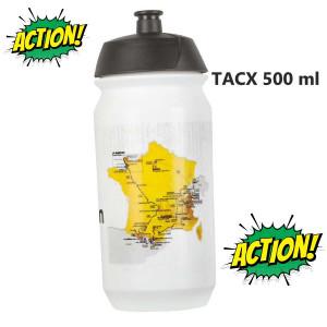Bidon Plastic Tour de France TACX 500 ml