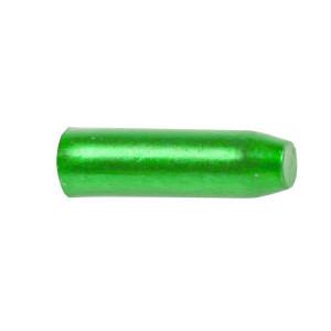 Capete Cablu CNC 1,7x10 mm M-WAVE Aluminiu Verde Anodizat