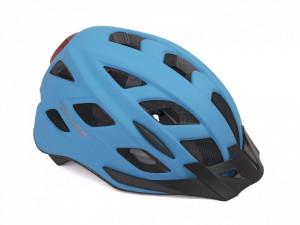 Casca Ciclism AUTHOR Pulse LED X8 58-61 cm Albastru Neon
