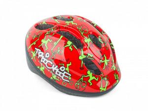 Casca Ciclism AUTHOR Trickie 49-56 cm Rosu/Verde
