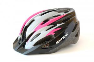 Casca Ciclism EXTEND ELEMENT (58-61 cm) Flamy/Pink