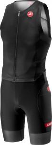 Costum Triatlon Fara Maneca Castelli Free Sanremo SS Suit Negru XL