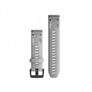 Curea Garmin Quickfit 20 silicon Powder Gray fenix 5S, 6S