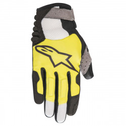 Manusi Alpinestars Linestorm black/acid yellow M