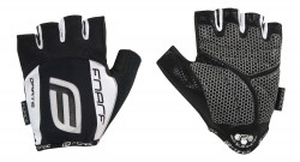 Manusi Force Darts17 gel fara banda velcro negru/alb L
