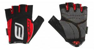 Manusi Force Darts17 gel fara banda velcro negru/rosu M