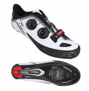 Pantofi Force Road Light Carbon alb/negru 44