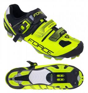 Pantofi MTB Hard Force negru/fluo 38