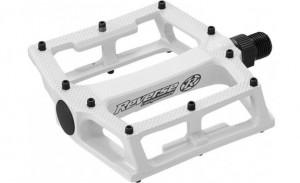Pedale Reverse Super Shape-3-D albe