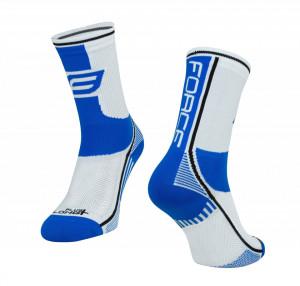 Sosete Force Long Plus albastru/negru/alb S-M