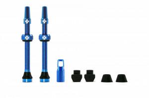 Valve Tubeless Muc-Off Presta MTB 60mm Albastre