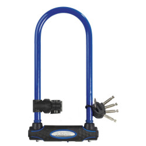 Antifurt Master Lock U-lock cu cheie 210x110x13mm Albastru