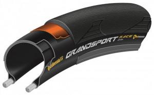 Anvelopa pliabila Continental Grand Sport Race 25-622 negru
