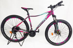 Bicicleta MTB Sprint Maverick Pro Lady 27.5 2021 Violet Mat/Roz Neon 480mm