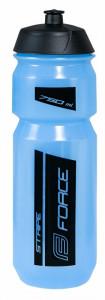 Bidon Force Stripe 0.75l albastru/negru transparent