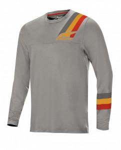 Bluza Alpinestars Alps LS Jersey 4.0 Melange Grey/Red Ochre L