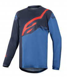 Bluza Alpinestars Youth Racer Factory LS Dark Navy/Blue/red M