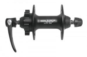 Butuc fata Shimano XT HBM756 disc 32h negru