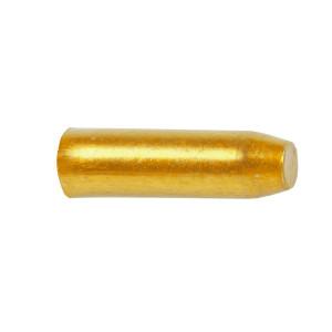 Capete Cablu CNC 1,7x10 mm M-WAVE Aluminiu Gold/Orange Anodizat