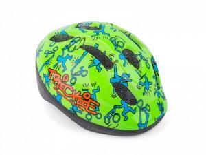 Casca Ciclism AUTHOR Trickie 49-56 cm Verde/Albastru