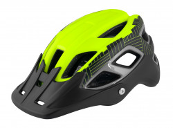 Casca Force Aves MTB E-bike, Fluo-Negru Mat L-XL