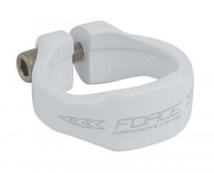 Colier Force 34.9 mm al. alb