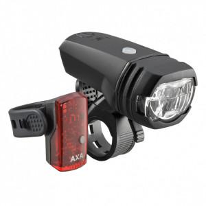 Far + stop AXA Greenline 50 Lux - 2 LED USB