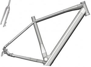 Kit E-Bike Urban-Gravel - CONCEPT H600 - 50 cm