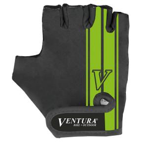 Manusi Ciclism VENTURA L/XL (Negru/Verde)