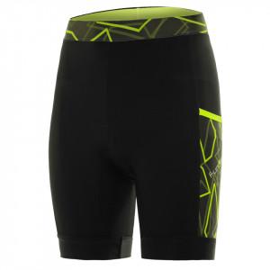 Pantaloni alergare FUNKIER Paduli-2 - Negru/Galben 2XL