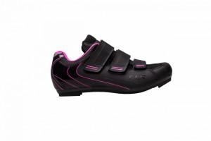 Pantofi ciclism FLR F-35 III Pro Road - Negru/Roz 37