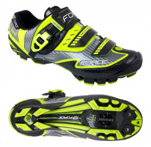 Pantofi Force MTB Carbon Devil fluo 43