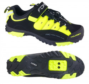 Pantofi Tourist Force negru/fluo 41